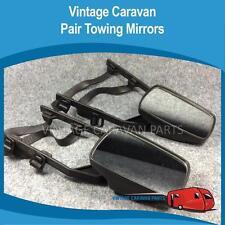 Caravan Towing Mirrors x 2 ( 1 Pair ) Car Towing Mirror Set rubber Strap On AC02