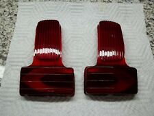 1941-49 Buick Taillight Lens, Pair 40-60-90 Series NEW