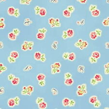 2 Yard Remnant Cottage Shabby Chic Mary Rose Sweet Charms Tiny Roses MR2150-11B