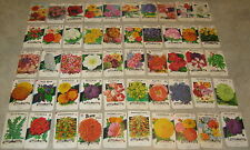 Lot of 50 Old Vintage 1960's-70's - FLOWER  - SEED PACKETS - Lone Star - EMPTY