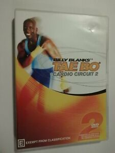 Billy Blanks Tae Bo Cardio Circuit 2 DVD Exercise Fitness GOOD CONDITION
