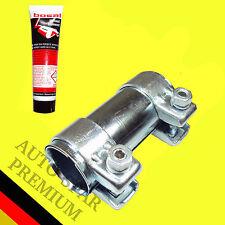 Auspuff Rohrverbinder Doppelschelle Universal Ø 45 x 125mm mit 60g Montagepaste