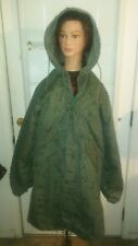 Cold Weather Parka  Rainsuit Rain Suit Liner Medium Med Camo Coat Jacket hooded