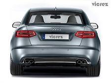 Vicrez Audi A6 2009-2011 VZ Style Polyurethane Rear Diffuser vz 100363