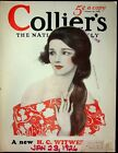 W+T+Benda+Illustrated+Cover+Only+Collier%27s+Magazine+January+23+1926+Pretty+Girl