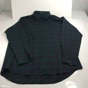 Pendleton Men's Size XXL Tall Sir Pendleton Plaid Long Sleeve Button Shirt