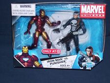 Marvel Universe Iron Man vs. Punisher  #2 Target Exclusive 3 3/4 NIB Hasbro
