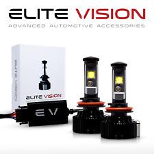 Elite Vision H11 Headlight+5202 Foglight Combo LED Kit for GMC 6000K 3000Lm