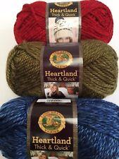 New Heartland thick & Quick 100% acrylic yarn super bulky wool 142g balls #6