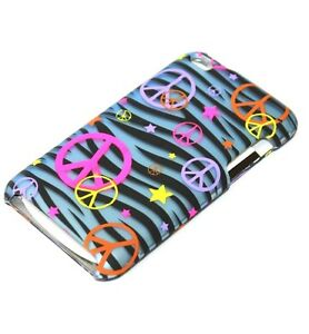 For Apple iPod Touch 4th Generation - HARD SNAP ON PROTECTOR SKIN CASE COVER