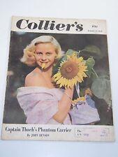 Collier's Magazine- Captain Thach's Phantom Carrier- October 14, 1950