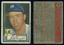(53201) 1952 Topps 372 Gil McDougald RC Yankees-FR