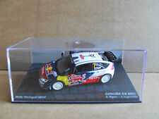 Rally Model Car IXO 1:43 CITROEN C4 WRC Portugal 2010 S. Ogier [MZ14]