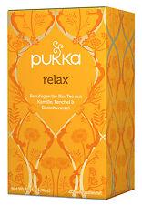 Bio relax teemischung, 40 g nuevo embalaje original & de Pukka herbs