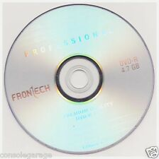 4.7GB DVD - R Pack Of 20 Pieces Frontech Professional Blank 16x GOOD  Quality