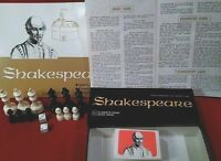 SHAKESPEARE BOOKCASE GAME 100% Avalon Hill Co 1966 2 - 4 players Age 10 & up