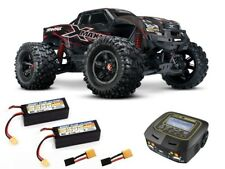 Traxxas X-maxx 8 S 4x4 brushless Monster +2x 4 S Lipo, Duo Chargeur - 77086-4set2