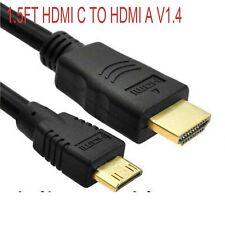 Mini HDMI C TO HDMI A Cable/ for Sony Bloggie Duo HD MHS-FS2K Binoculars DEV-3