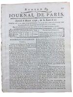 Ville de Bordeaux pendant la Révolution Française 1790 Gironde Journal de Paris