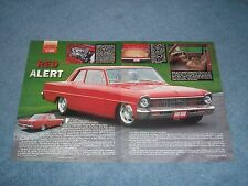 "1967 Chevy II Nova 2-Door Sedan Resto-Mod Article ""Red Alert"""