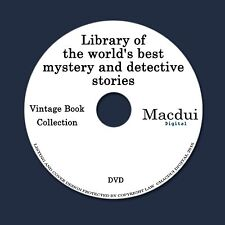Library of the world's best mystery and detective stories 6 PDF E-Books 1 DVD