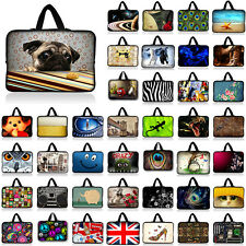 "16 inch 17"" 17.3"" 17.4"" Neoprene Laptop Sleeve Bag Case Notebook Cover + Handle"