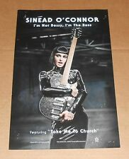 Sinead O'Connor I'm Not Bossy Original Promo Poster 11x17