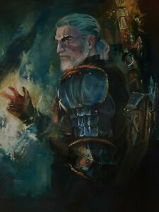 picture the Witcher Geralt of Rivia
