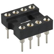 Lot de supports TULIPE pour circuit intégré 8 broches, lot au choix.   DIP 8