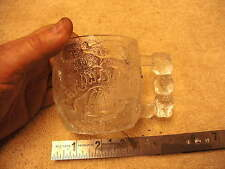 McDonald's Flintstone's  Rocky Road Glass Mug  1993