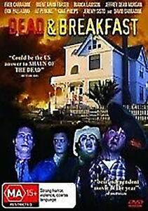 DEAD & BREAKFAST DVD - Zombie/ GORE David Carradine (Region 4) Rare OOP