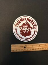 TOMMY KNOCKER BREWERY CO. Beer Skateboard STICKER Decal Craft Brewing
