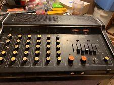 Vtg 70s Yamaha Em-150 6-Channel Stereo Pro Audio Mixer/Power Amp - Spring Reverb
