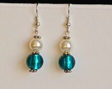 Swarovski Crystal Glass Costume Earrings