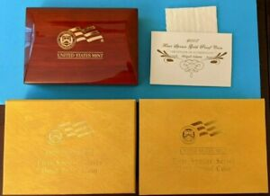 2007 FIRST SPOUSE SERIES ABIGAIL ADAMS GOLD PROOF EMPTY BOX w/COA NO COIN!