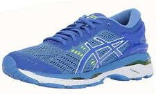 ASICS GEL Kayano 24 Womens Blue Textile Athletic Lace up Running Shoes 11