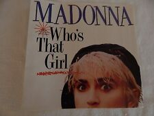 """Madonna """"Who's That Girl"""" PICTURE SLEEVE! NEW! MINT! PERFECT!!"""