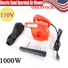 110V 1000W Electric Hand Operated Air Blower f/ Cleaning Computer Suck Blow Dust