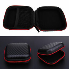 Storage Bag Carrying Hard Hold Case For Earphone Headphone Earbuds Card Pouch LN