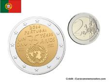 2 Euros Commémorative Portugal ONU 2020 UNC