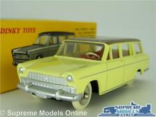 DINKY TOYS FIAT 1800 FAMILIALE MODEL CAR 1:43 SCALE 548 ATLAS ESTATE YELLOW K8