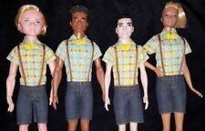 New Geek Doll Clothes Alistair Boy Shorts Bowtie Nerd Fits Slim Ken Tall Barbie
