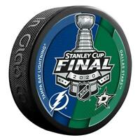 2020 NHL Stanley Cup Final Dueling Puck Dallas Stars vs Tampa Bay Lightning