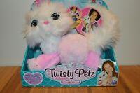 NIB Twisty Petz Cuddlez Series 3 Purrella Kitty Plush Wearable and Huggable