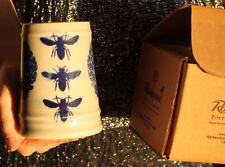 Rookwood Pottery RARE ROYAL BEE LIVING TREE HONEYBEE MUG NIB GORGEOUS