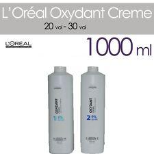 L'OREAL OXYDANT CREME LITRO - OSSIGENO TINTA 20/30 VOLUMI IN CREMA DA 1000 ML