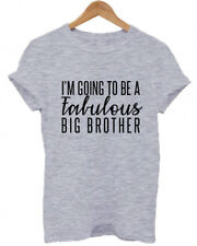 I'M GOING TO BE A FABULOUS BIG BROTHER, Bro, Family, Baby, Childs Adults T-Shirt