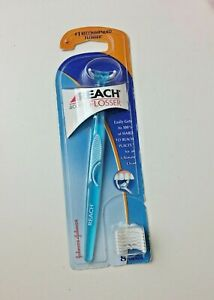 Reach Access Flosser with Disposable 8 Snap On Floss Flosser Heads SEALED New