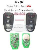 Keyless Entry Remote Genesis Fob PINHA-T008 key alarm phob clicker transmitter