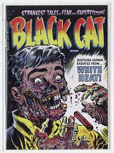 Black Cat Mystery #50  NM+ 9.6  Replica Edition  Canton Street Press  2016